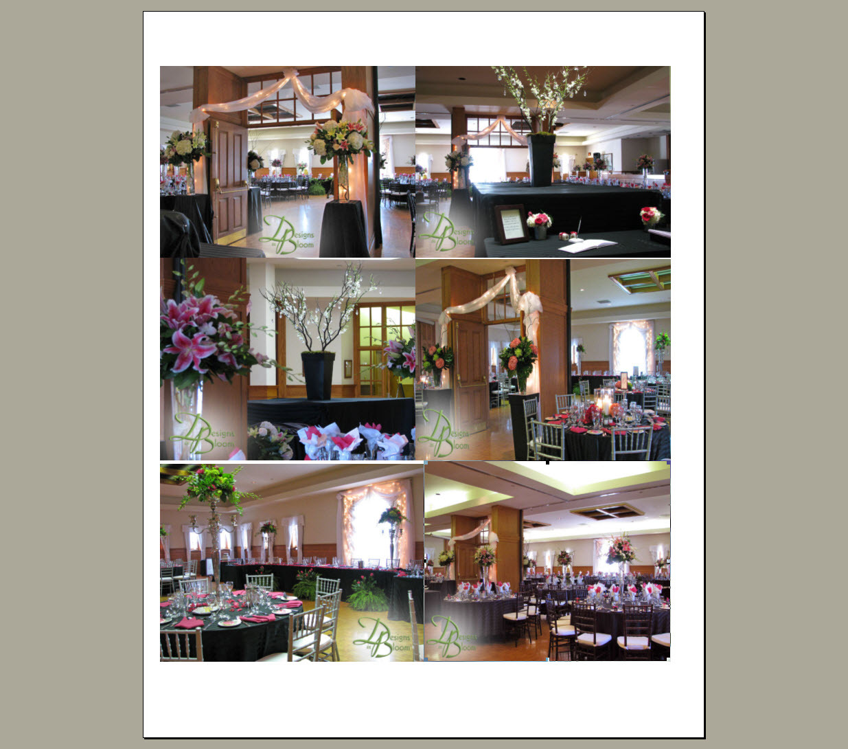 Reception, Flowers & Decor, Old, London, Ontario, Courthouse