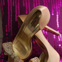 Shoes, Fashion, pink, purple, gold