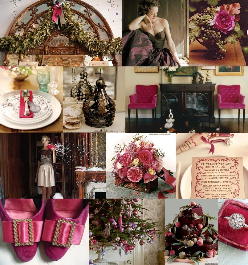 Inspiration, red, brown, Berry, Board, Inspiration board