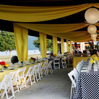 Reception, Flowers & Decor, yellow