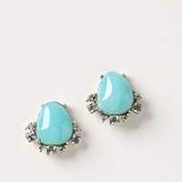 Jewelry, blue, Earrings
