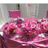 Reception, Flowers & Decor, pink, Table, Sweetheart