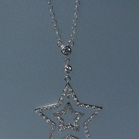 Jewelry, Necklaces, Necklace, Star