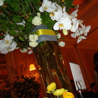 Reception, Flowers & Decor, Decor, white, yellow, Lighting, Flowers, Grey, Rosewood sand hill, Amy burke