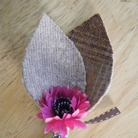 DIY, Flowers & Decor, purple, brown, Boutonnieres, Flowers, Bouts