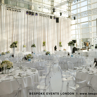 Reception, Flowers & Decor, white, green, silver, Lighting, Flowers