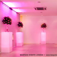 Reception, Flowers & Decor, pink, red, Lighting, Flowers