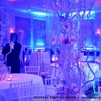 Reception, Flowers & Decor, white, pink, purple, silver, Lighting, Flowers