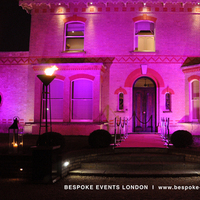 Reception, Flowers & Decor, pink, purple, Lighting