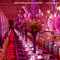 Reception, Flowers & Decor, pink, red, purple, Lighting, Flowers