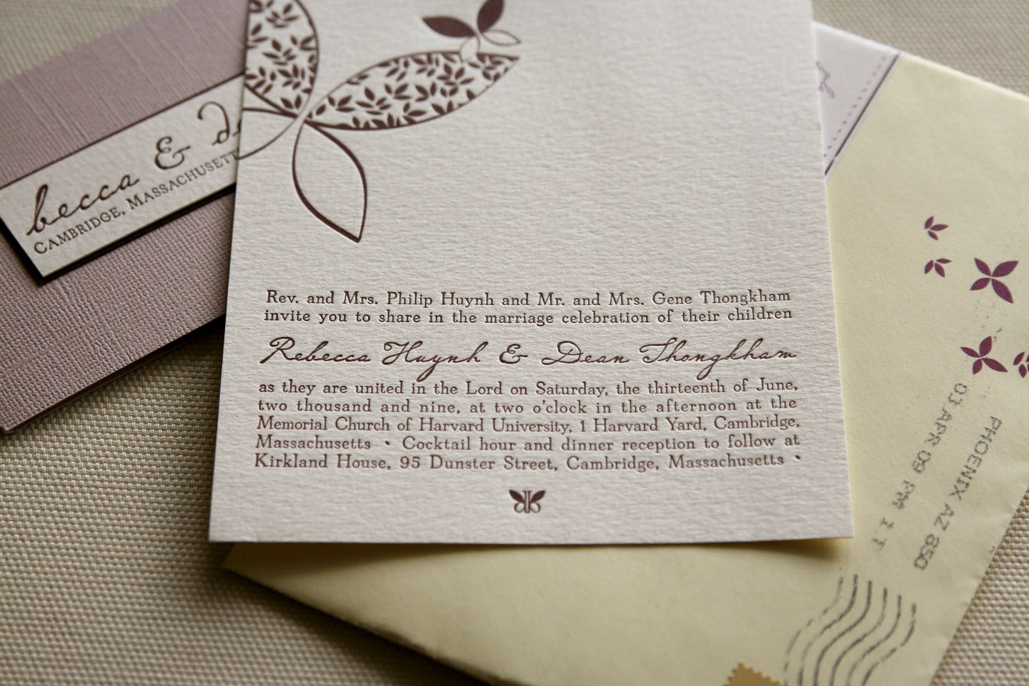 DIY, Stationery, white, yellow, purple, Invitations, Butterfly, Letterpress, Whimsical