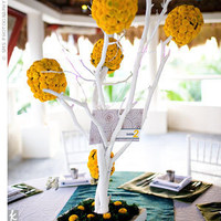 Flowers, Reception, white, yellow, Flowers & Decor