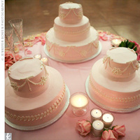 Reception, Flowers & Decor, Cakes, pink, cake