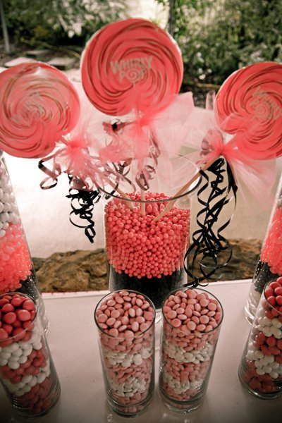 Reception, Flowers & Decor, pink, Candy, Bar, Lollipops