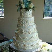 Cakes, white, cake, Vintage, Vintage Wedding Cakes