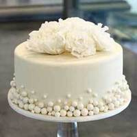 Flowers & Decor, Cakes, white, cake, Flowers