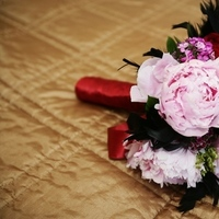 Ceremony, Flowers & Decor, pink, red, black, Ceremony Flowers, Flowers