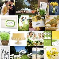 Inspiration, Reception, Flowers & Decor, green, Centerpieces, Board