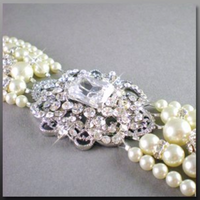 Jewelry, white, silver, Bracelets, Pearls, Dana saylor