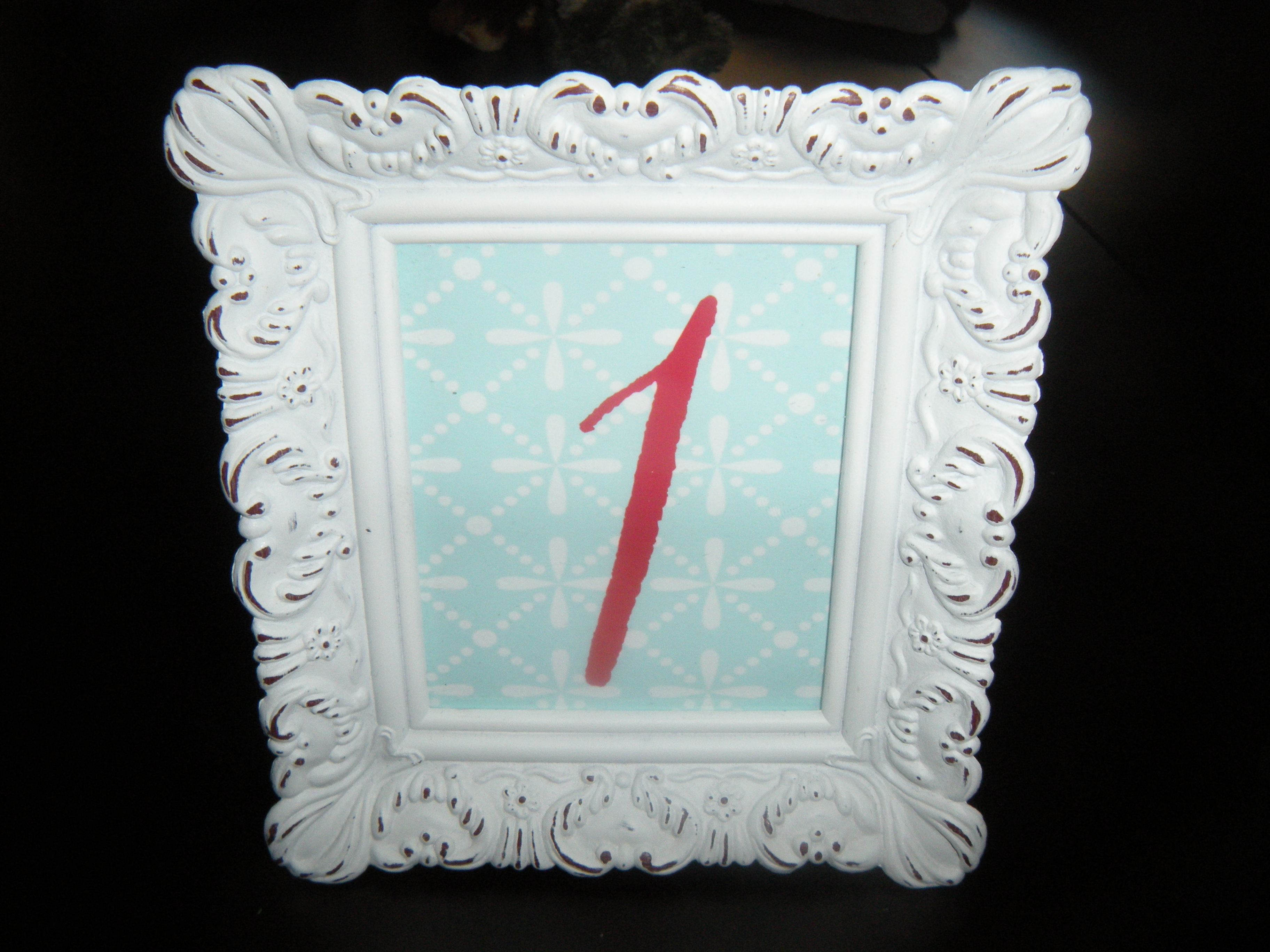 DIY, Reception, Flowers & Decor, red, blue, Table, Numbers, Chic, Shabby
