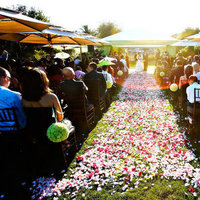 Ceremony, Flowers & Decor, green, Ceremony Flowers, Aisle Decor, Outdoor, Flowers, Pomander, Aisle