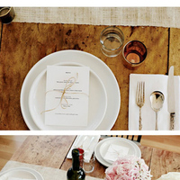 Inspiration, Reception, Flowers & Decor, Board, Place setting