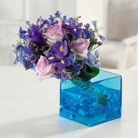 Flowers & Decor, white, pink, purple, blue, Centerpieces, Flowers, Centerpiece