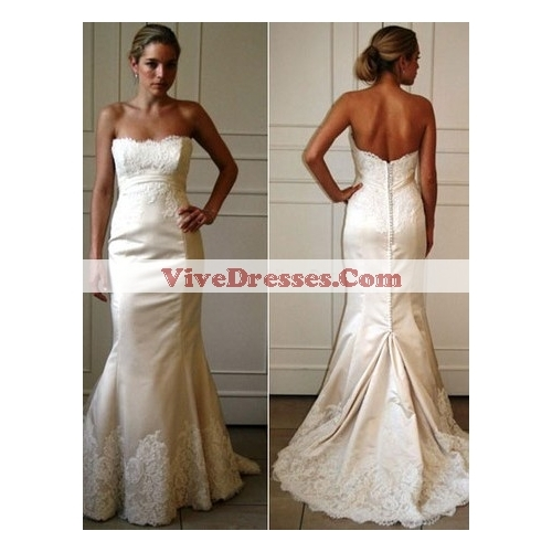 Wedding Dresses, Mermaid Wedding Dresses, Lace Wedding Dresses, Fashion, dress, Mermaid, Lace, With
