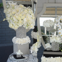Reception, Flowers & Decor, white, Flowers