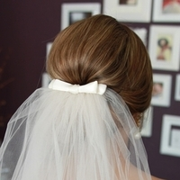 Beauty, Veils, Fashion, white, Veil, Low, Hair, Kelly, Zhang, Bun