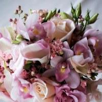 Flowers & Decor, pink, Flowers, Roses, Calla, Lilies, Orchids, Mini, Cymbidium, Lisianthus, Bouvardia