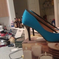 Shoes, Fashion, blue, Wedding