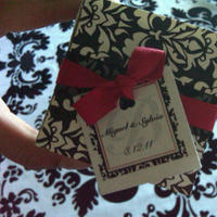Reception, Flowers & Decor, Favors & Gifts, white, red, black, favor, Box