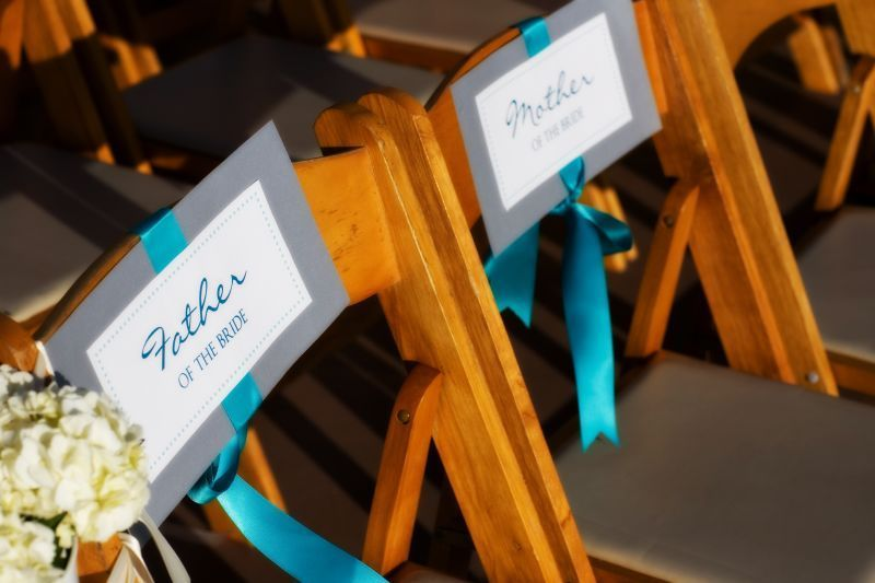 Ceremony, Flowers & Decor, blue, Chair