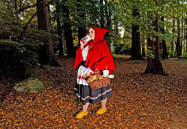 Disney, Little red riding hood