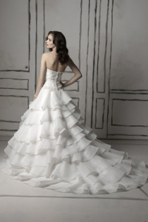 Wedding Dresses, Fashion, white, dress, Justin, Alexander