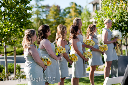Bridesmaids, Bridesmaids Dresses, Fashion, white, yellow, silver, Grey, Jcrew