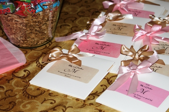 Inspiration, Reception, Flowers & Decor, Favors & Gifts, Songs, pink, brown, gold, favor, Board, Favorite, Love, Our, Cds