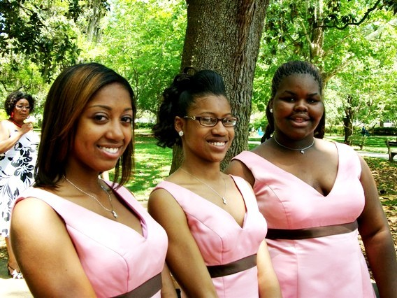 Bridesmaids, Bridesmaids Dresses, Wedding Dresses, Fashion, pink, brown, dress, Jr, Hostesss