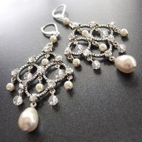 Jewelry, Earrings, Wedding