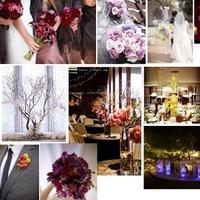 Inspiration, Flowers & Decor, pink, red, purple, Flowers, Board