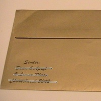 Stationery, black, gold, Invitations