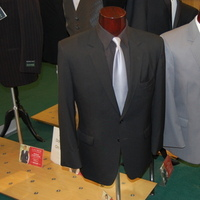 Ceremony, Reception, Flowers & Decor, Fashion, pink, black, silver, Men's Formal Wear, Grey, Suit
