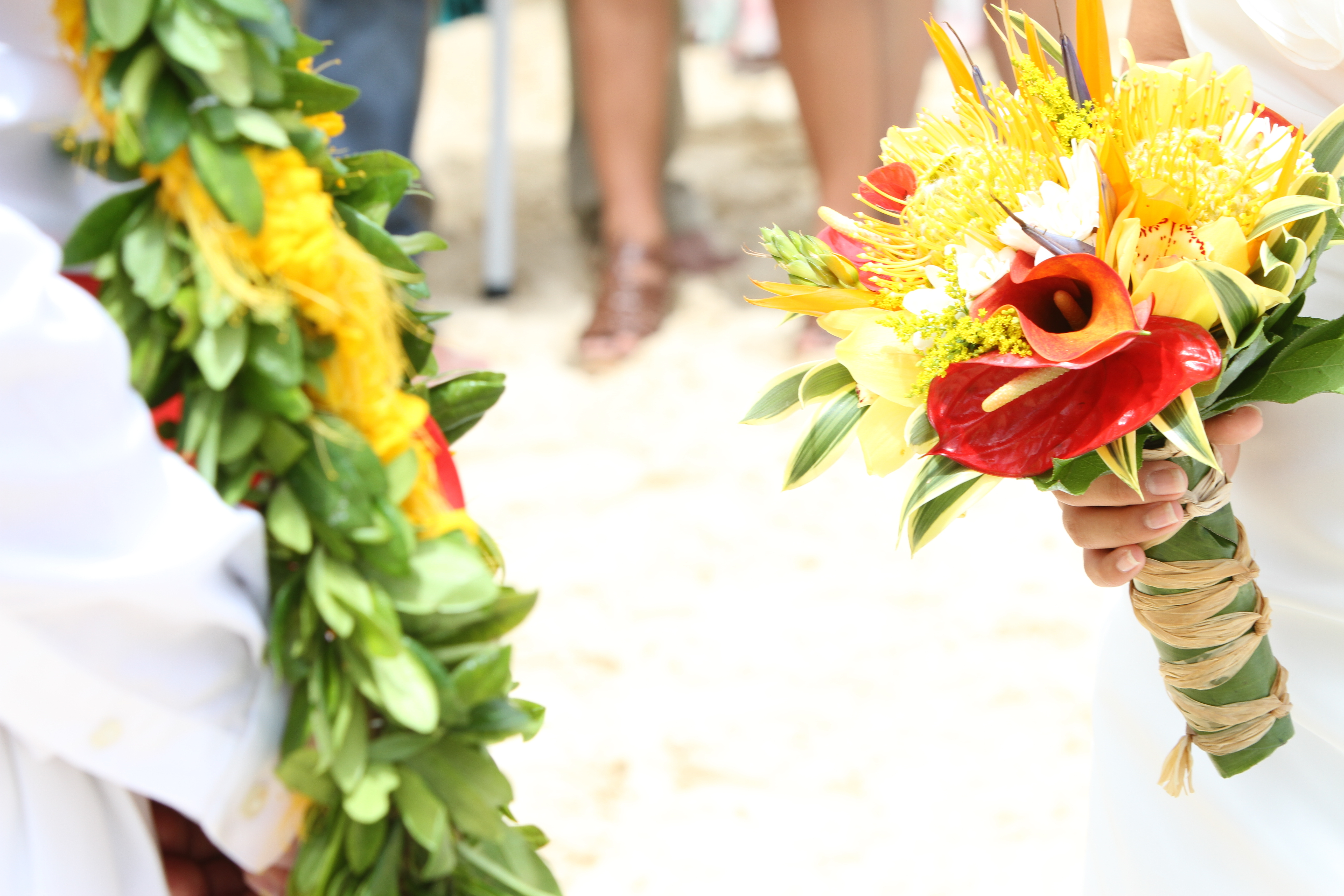 Flowers & Decor, Destinations, yellow, red, Destination Weddings, Flowers, Destination wedding