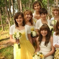 Flowers, Hair, dress, Bridesmaids, Inspiration, Board, yellow, Flowers & Decor, Fashion, Bridesmaids Dresses, Bridesmaid Bouquets, Wedding Dresses, Beauty, Flower Wedding Dresses