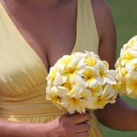 Inspiration, Flowers & Decor, Bridesmaids, Bridesmaids Dresses, Fashion, yellow, Bride Bouquets, Bridesmaid Bouquets, Flowers, Flower, Bouquet, Board, Flower Wedding Dresses