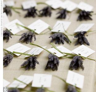 Reception, Flowers & Decor, purple, Rustic, Rustic Wedding Flowers & Decor, Escort, Lavender, Card