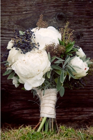 white, purple, Bride Bouquets, Winter Wedding Flowers & Decor