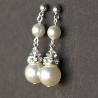 Jewelry, Earrings, Pearl