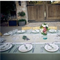 Reception, Flowers & Decor, Rustic, Rustic Wedding Flowers & Decor, Table, Long, Tablescape